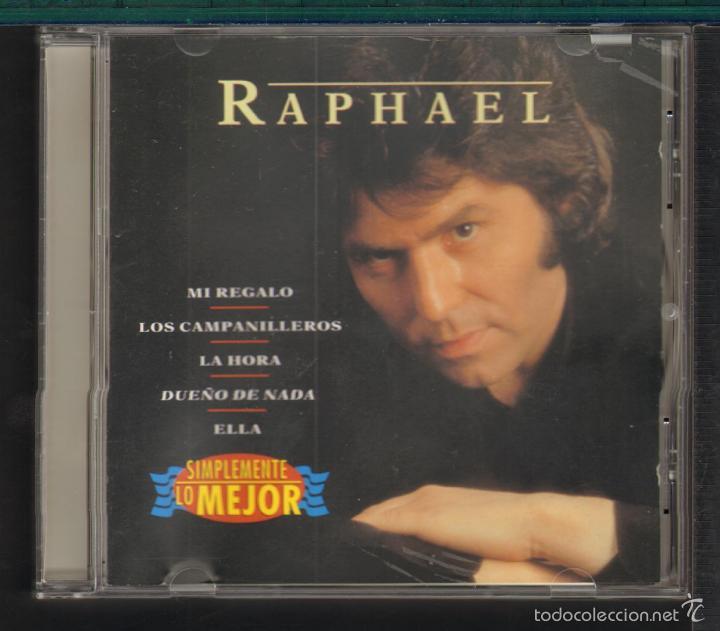 MUSICA GOYO - CD ALBUM - RAPHAEL - SIMPLEMENTE LO MEJOR - *UU99 (Música - CD's Melódica )