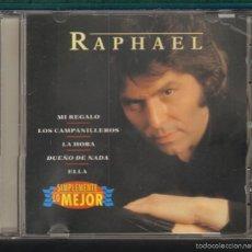 CDs de Música: MUSICA GOYO - CD ALBUM - RAPHAEL - SIMPLEMENTE LO MEJOR - *UU99. Lote 56522209