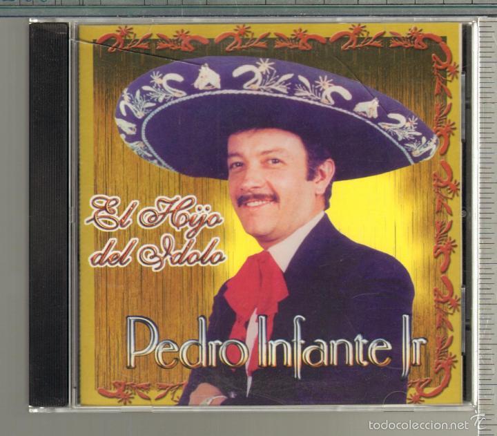 MUSICA GOYO - CD ALBUM - PEDRO INFANTE JR - EL HIJO DEL IDOLO - MUY RARO CD - *UU99 (Música - CD's Latina)