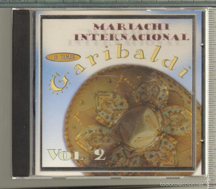 MUSICA GOYO - CD ALBUM - MARIACHI INTERNACIONAL GARIBALDI - VOLUMEN 2 - *AA98 (Música - CD's Latina)