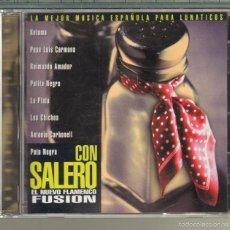 CDs de Música: MUSICA GOYO - CD ALBUM - CON SALERO - FLAMENCO FUSION - PARA LUNATICOS - *AA98. Lote 56526026