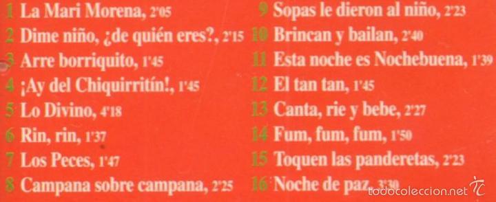 CDs de Música: MUSICA GOYO - CD ALBUM - CANTEMOS A LA NAVIDAD - VILLANCICOS - *AA98 - Foto 2 - 56526066