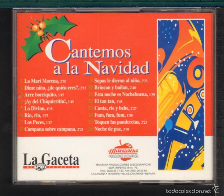 CDs de Música: MUSICA GOYO - CD ALBUM - CANTEMOS A LA NAVIDAD - VILLANCICOS - *AA98 - Foto 3 - 56526066