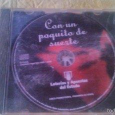 CDs de Música: CE LOTERIAS DE 2000,CON UN POQUITO DE SUERTE.DISCO PROMOCIONAL.SIN CARATULA.. Lote 56529638