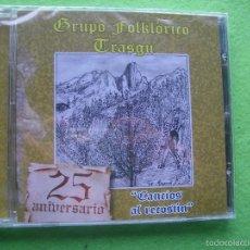 CDs de Música: GRUPO FOLKLORICO TRASGU 25 ANIVERSARIO CANCIOS AL RECOSTIN CD ALBUM ASTURIAS NUEVO¡¡¡. Lote 56538206