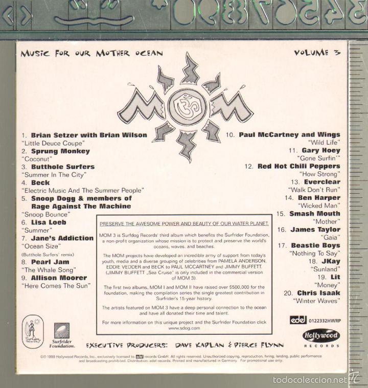 CDs de Música: MUSICA GOYO - CD ALBUM - MOM - MUSIC FOR OUR MOTHER OCEAN *CC99 - Foto 3 - 23093963
