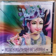 CDs de Música: SUDDHA NITYANANDA. MÚSICA MILENARIA DE LA INDIA. CD / PREMYSL KLIMA-2010. 12 TEMAS / BUENA CALIDAD.. Lote 56541443