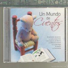 CDs de Música: MUSICA GOYO - CD ALBUM - UN MUNDO DE CUENTOS - CD EDUCATIVO PARA NIÑOS Y ADULTOS - *UU99. Lote 56543915