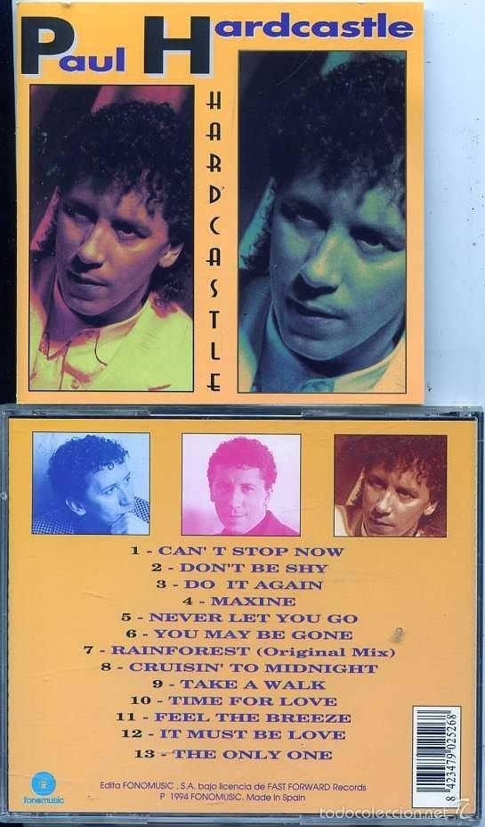 PAUL HARDCASTLE / HARD CASTLE (CD FONOMUSIC 1994) (Música - CD's Pop)