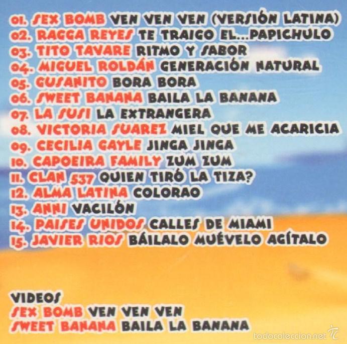 CDs de Música: MUSICA GOYO - CD ALBUM - CARIBE MIX 2003 - EL MAS RARO Y BUSCADO - *UU99 - Foto 2 - 56550946
