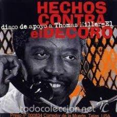 CDs de Música: HECHOS CONTRA EL DECORO MUSICA CONTRA UNA EJECUCION CD. Lote 56557530