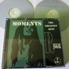 CDs de Música: MOMENTS - GREATEST HITS OF REGGAE - 2 CD 22 TEMAS - BOB MARLEY / THE UPSETTERS / EQUALS / LEE PERRY. Lote 56565107