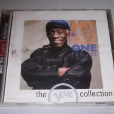 CDs de Música: ART BLAKEY AND THE JAZZ MESSENGERS, ONE FOR ALL, THE VERVE COLLECTION, DEFECTO. Lote 56565544