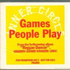 CDs de Música: MUSICA GOYO - CD SINGLE - INNER CIRCLE - GAMES PEOPLE PLAY - *AA99. Lote 16854525
