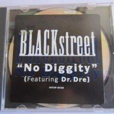 CDs de Música: BLACKSTREET FEATURING DR. DRE - NO DIGGITY 1996 USA CD SINGLE * PROMO. Lote 56568371