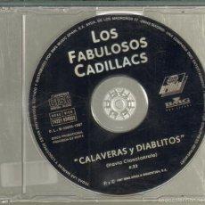 CDs de Música: MUSICA GOYO - CD SINGLE - FABULOSOS CADILLACS - CALAVERAS Y DIABLITOS *GG99. Lote 20293229