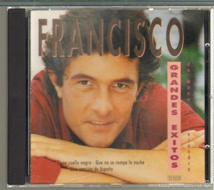 MUSICA GOYO - CD SINGLE - FRANCISCO - GRANDES EXITOS - 3 CANCIONES *XX99 (Música - CD's Melódica )