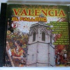 CDs de Música: VALENCIA EL FALLERO VOL.2 - CD 12 TEMAS - DIRESA 2001 - NUEVO PRECINTADO. Lote 56569253