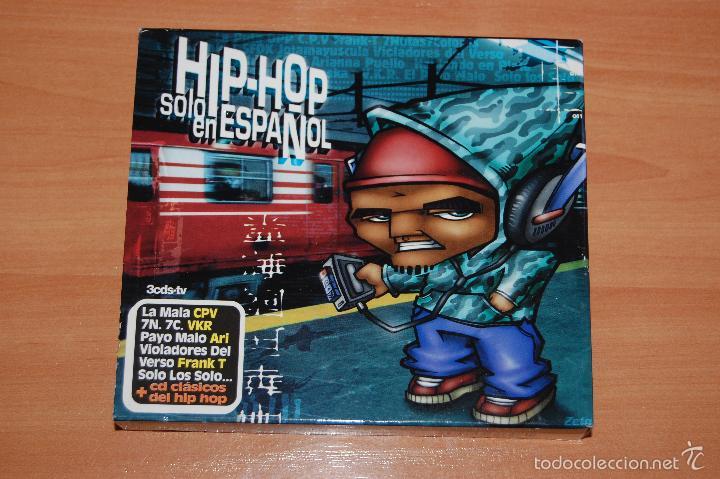 BOX SET 3 CD HIP HOP SOLO EN ESPAÑOL (Música - CD's Hip hop)