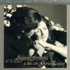 CDs de Música: MUSICA GOYO - CD SINGLE - ALEJANDRO FERNANDEZ Y GLORIA ESTEFAN - EN EL JARDIN - *XX99. Lote 56605121