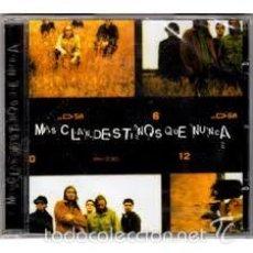 CDs de Música: CLANDESTINOS MAS CLANDESTINOS QUE NUNCA CD. Lote 56607239