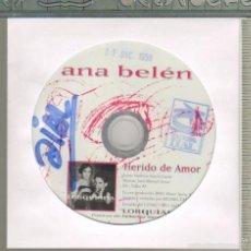 CDs de Música: MUSICA GOYO - CD SINGLE - ANA BELEN - HERIDO DE AMOR *AA98. Lote 21701093