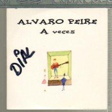 CDs de Música: MUSICA GOYO - CD SINGLE - ALVARO PEIRE - A VECES - *GG99. Lote 21713883