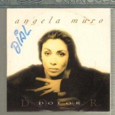CDs de Música: MUSICA GOYO - CD SINGLE - ANGELA MURO - DOLOR *GG99. Lote 21739887