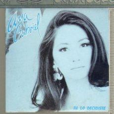 CDs de Musique: MUSICA GOYO - CD SINGLE - ANA GABRIEL - TU LO DECIDISTE - *AA98. Lote 56608705