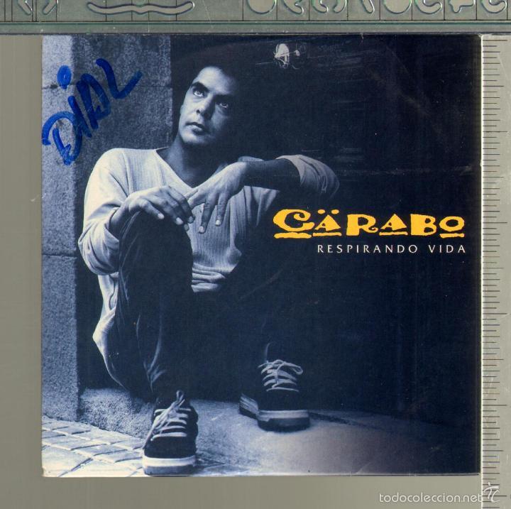 MUSICA GOYO - CD SINGLE - CARABO - RESPIRANDO VIDA - *GG99 (Música - CD's Country y Folk)