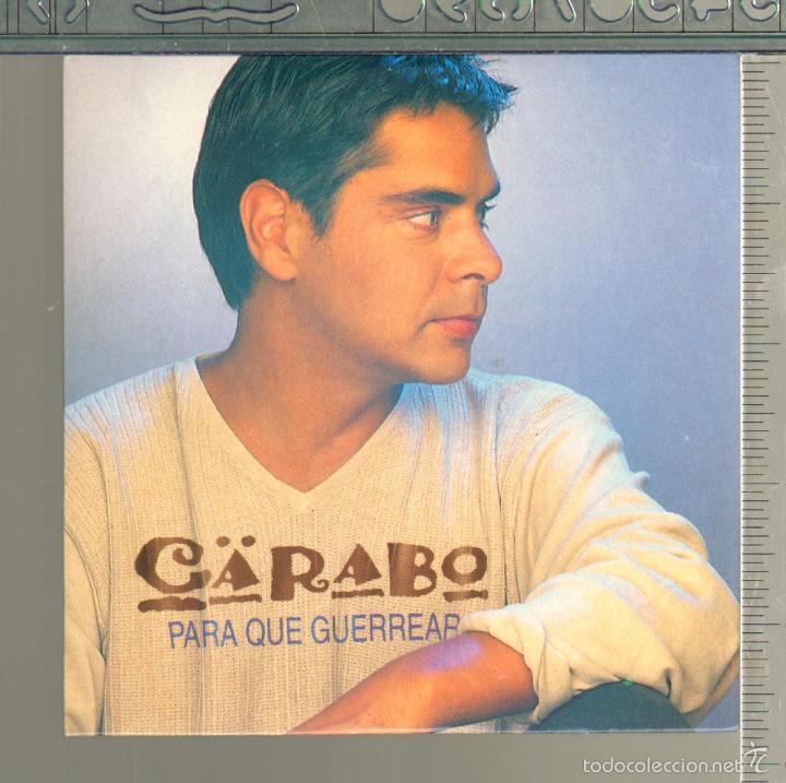MUSICA GOYO - CD SINGLE - CARABO - PARA QUE GUERREAR - *GG99 (Música - CD's Country y Folk)