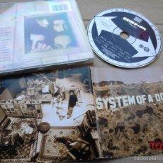 CDs de Música: MUSICA CD HEAVY SYSTEM OF A DOWN TOXICITY MA.E . Lote 56633639
