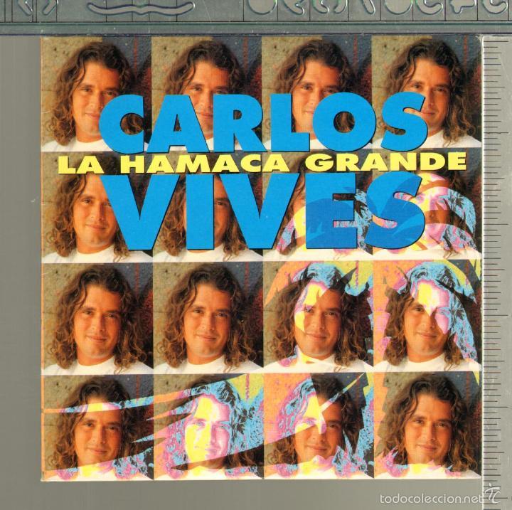 MUSICA GOYO - CD SINGLE - CARLOS VIVES - LA HAMACA GRANDE - RARO - *AA98 (Música - CD's Latina)