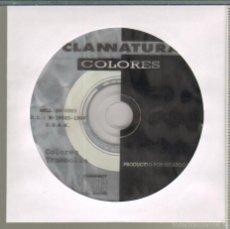 CDs de Música: MUSICA GOYO - CD SINGLE - CLANNATURA - COLORES - *HH99. Lote 21742165