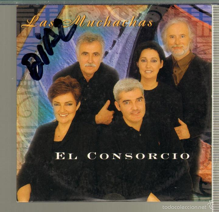 MUSICA GOYO - CD SINGLE - CONSORCIO, EL... - LAS MUCHACHAS - SERGIO Y ESTIBALIZ - *GG99 (Música - CD's Melódica )
