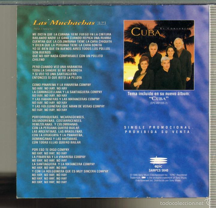 CDs de Música: MUSICA GOYO - CD SINGLE - CONSORCIO, EL... - LAS MUCHACHAS - SERGIO Y ESTIBALIZ - *GG99 - Foto 2 - 32738281