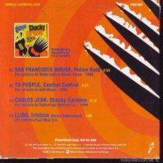 CDs de Música: SHACKY CARMINE ... CDS PROMOCIONAL ... CDS. Lote 56663256