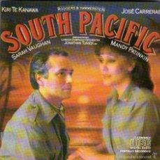 CDs de Música: SOUTH PACIFIC - KIRI TE KANAWA, JOSÉ CARRERAS, SARAH VAUGHAN, MANDY PATINKIN - 19 TRACKS - CBS 1986. Lote 56664747