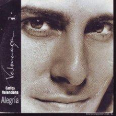 CDs de Música: ALEGRIA -- CARLOS VALENCIAGA ... CDS PROMOCIONAL. Lote 56665260