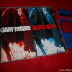 CDs de Música: GARY MOORE BLUES ALIVE CD 1993 VIRGIN EDICION HOLANDESA HOLLAND. Lote 56676362