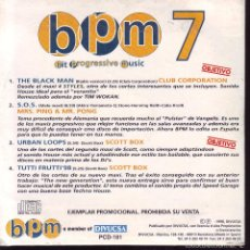 CDs de Música: BPM7 - CDS PROMOCIONAL. Lote 56677043