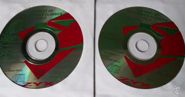 THE BEST OF ITALO DANCE CLASSICS VOL.2 - VARIOS - 2 CD 34 TEMAS - ZYX 1994 ITALO DISCO - SIN CAJA (Música - CD's Disco y Dance)