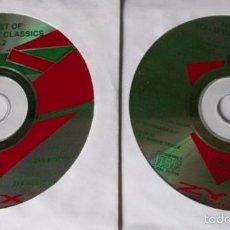 CDs de Música: THE BEST OF ITALO DANCE CLASSICS VOL.2 - VARIOS - 2 CD 34 TEMAS - ZYX 1994 ITALO DISCO - SIN CAJA. Lote 172126884