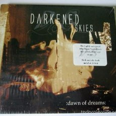 CDs de Música: DARKENED SKIES - DAWN OF DREAMS - CD DIGIPACK 8 TEMAS - KHAOSMASTER 2003 - METAL - NUEVO. Lote 56694326