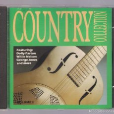 CDs de Música: VARIOS: DOLLY PATON, WILLIE NELSON, GEORGE JONES - COUNTRY COLLECTION VOL. 2 (CD ONN7). Lote 56697840