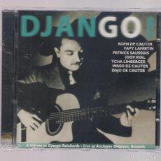 CDs de Música: TRIBUTE TO DJANGO REINHARDT - DJANGO! (CD 2005, DJAZ RECORDS DJ 562-2). Lote 56698574