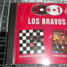 CDs de Música: LOS BRAVOS - 2 EN 1 - CD - ( LOS CHICOS CON LAS CHICAS + DAME UN POCO DE AMOR ). Lote 131695035