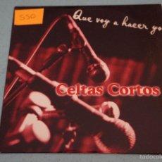 CDs de Música: CD PROMOCIONAL DE CARTÓN CELTAS CORTOS QUE VOY A HACER YO AÑO 1997 Nº 550 HAZTE CON EL. Lote 199251441