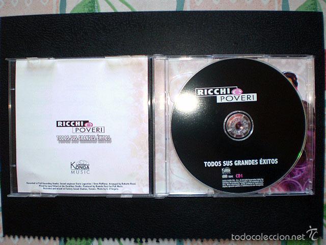 CDs de Música: CD Ricchi e Poveri: Todos sus grandes éxitos (2 CDs) Como nuevos - Foto 4 - 56731077