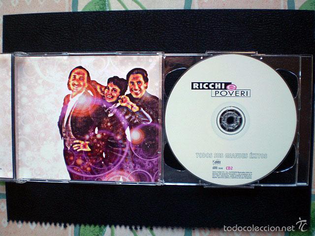 CDs de Música: CD Ricchi e Poveri: Todos sus grandes éxitos (2 CDs) Como nuevos - Foto 5 - 56731077